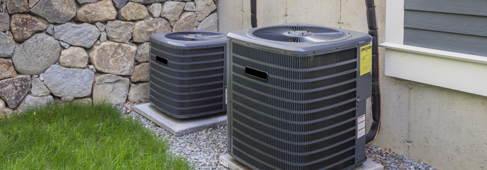 Two Residential HVAC Units